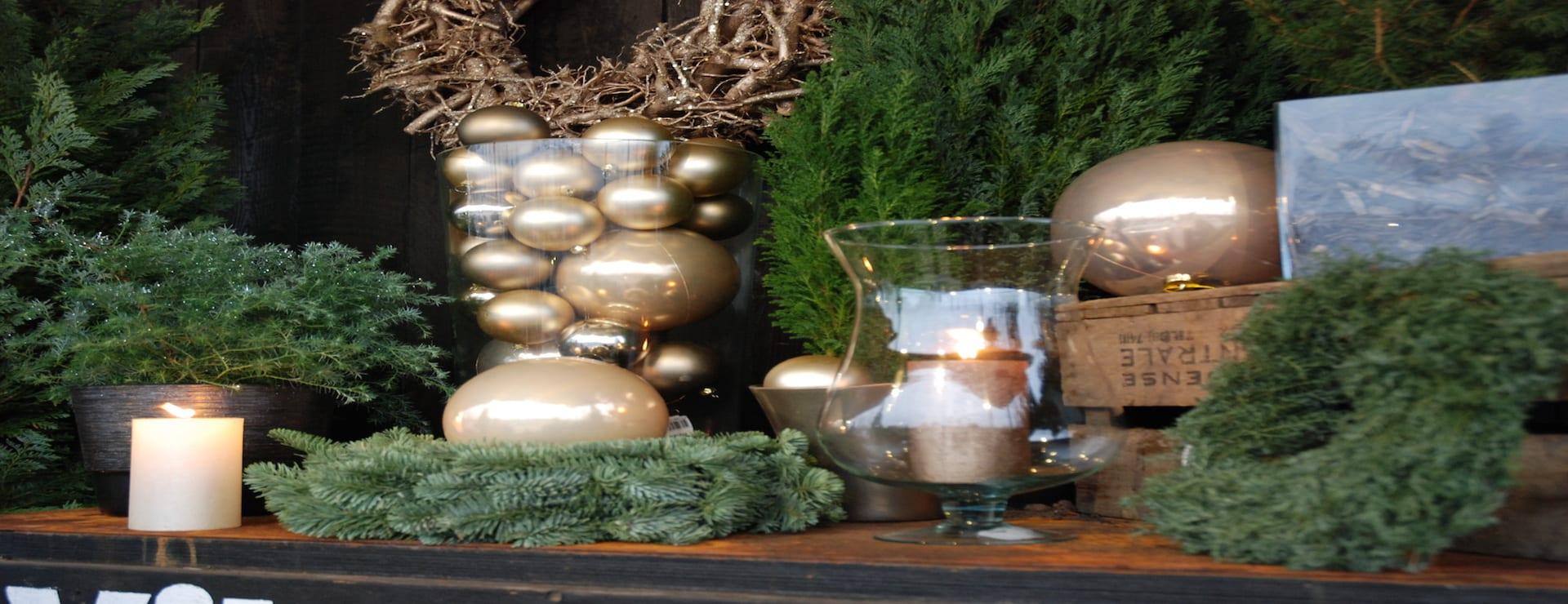 Tervetuloa inspiroitumaan Viherlassilan joulupuutarhaan!
